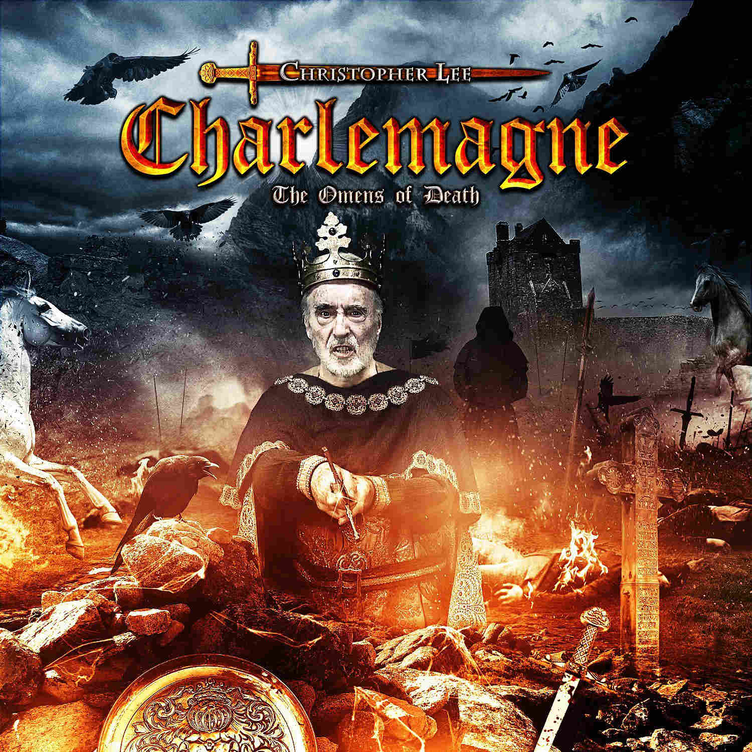 charlemagne omens of death christopher lee
